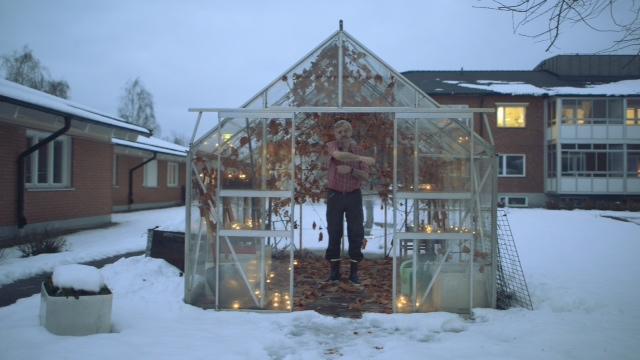 Lars i växthuset0